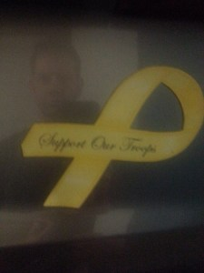 yellow ribbon reflection